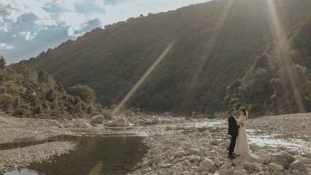 matrimonio sul fiume