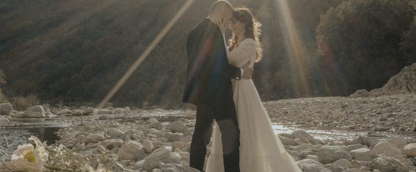 matrimonio sul fiume sardegna